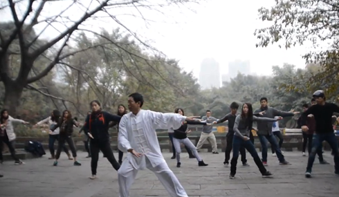 Taichi Lesson in People's park